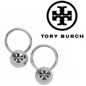 ■ Tory Burch■ Rare Silver Bead Drop Earrings